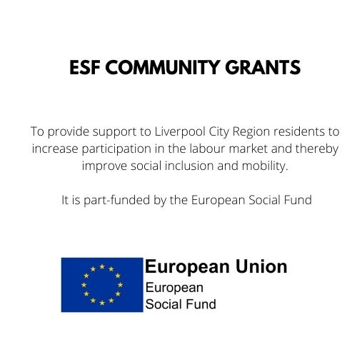 Moving Forward is funded by an ESF Community Grant